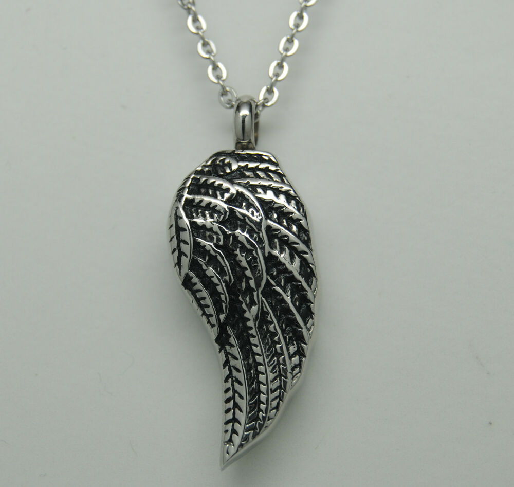 Angel Wing Cremation Cremation Jewelry Wing Urn Necklace