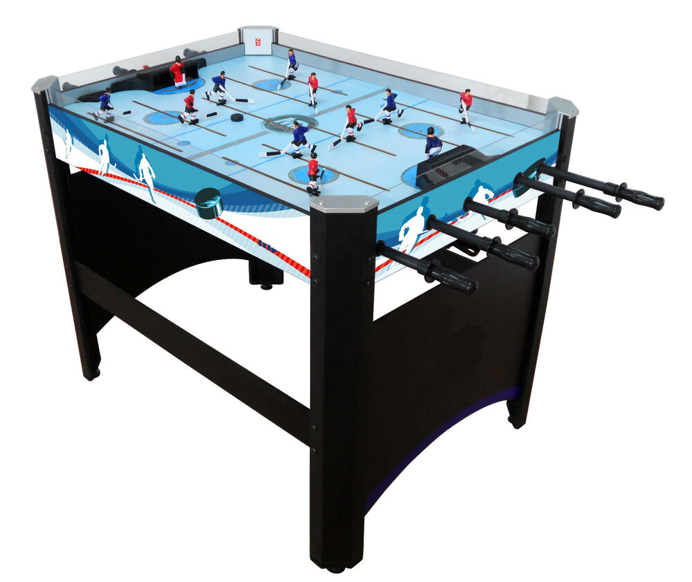 Rod hockey table solid and very nice table game pro ebay for Table hockey