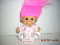New 5 inch Troll Doll  Sweet Sixteen Russ Mint Condition New 1992