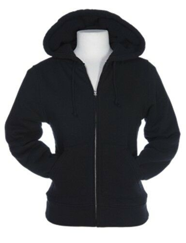 LADIES HEAVYWEIGHT, STONEWASHED, SHERPA LINED HOODIE, ZIP UP ...