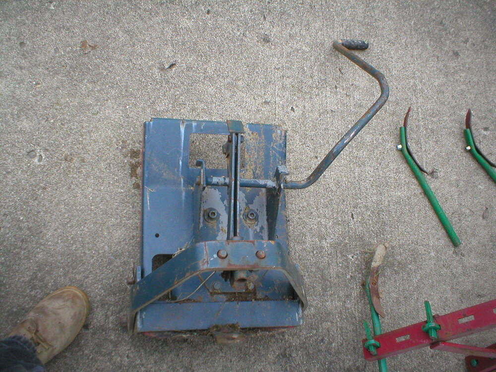 Sears Garden Tractor 3 Point Hitch : Sears suburban craftsman tractor brinly clevis hitch roper