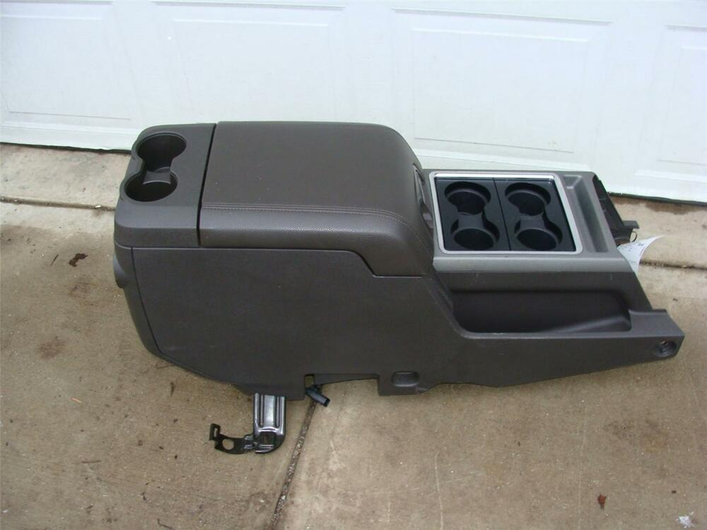 Car Console For A Ford F Super Duty