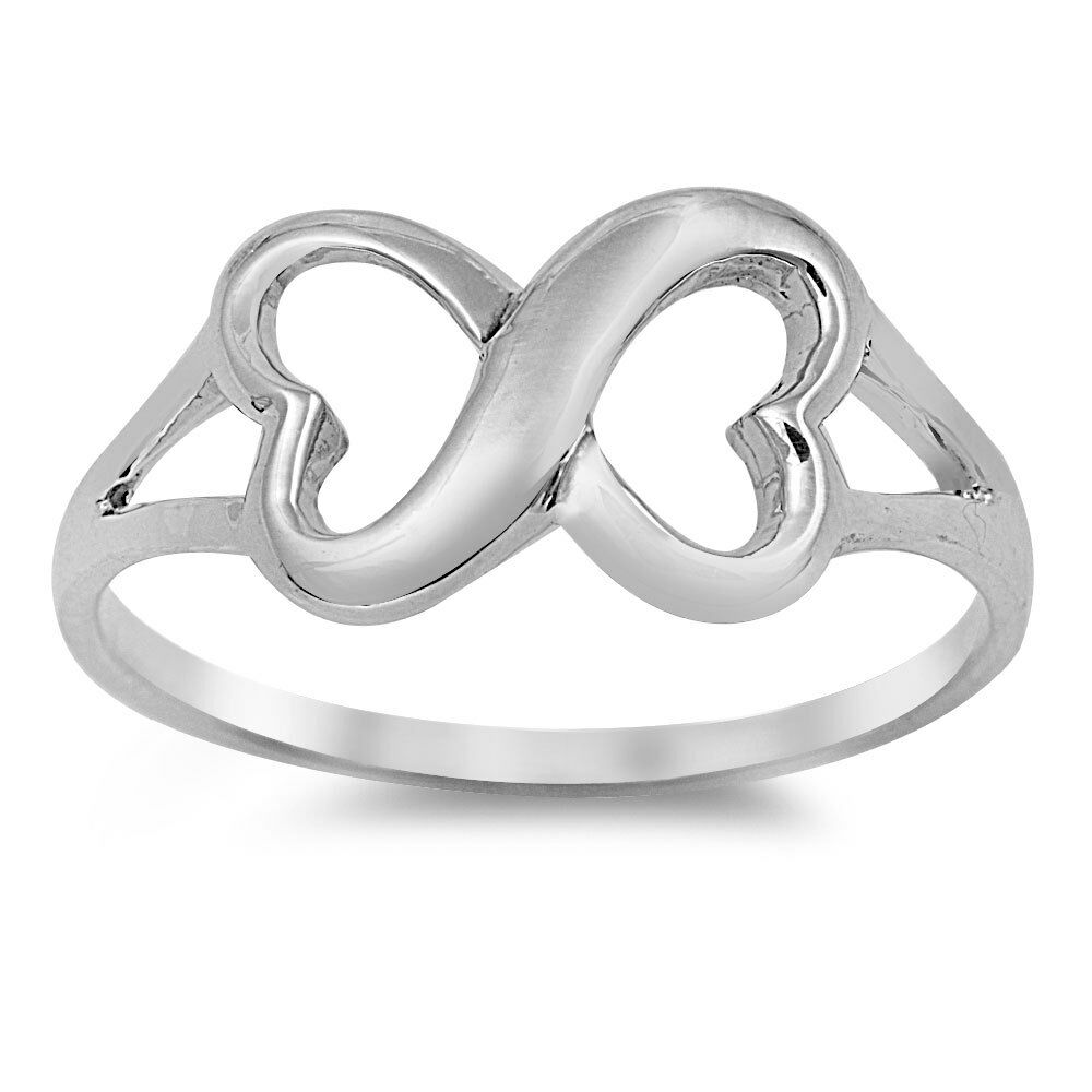 infinity knot promise ring 925 sterling silver