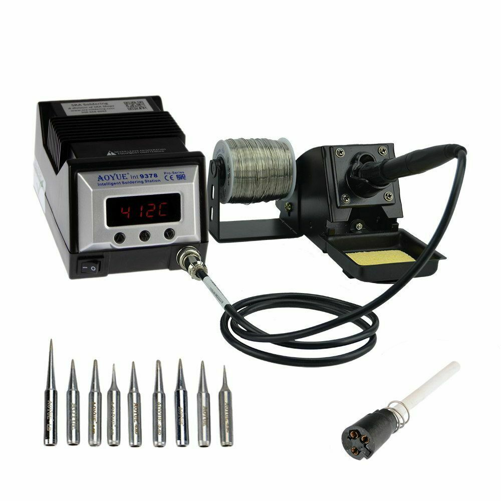 Digital Soldering Station : Aoyue digital soldering station with many extras ebay