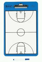 Pro Dry-Erase 2 Sided Basketball Coach-Coaches-Coaching court Clipboard Board