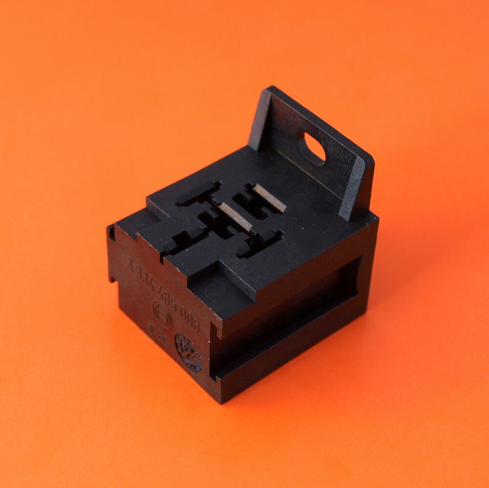 Premium Quality Bosch Relay Base Holder And Mount For 4  5 Pin Relays