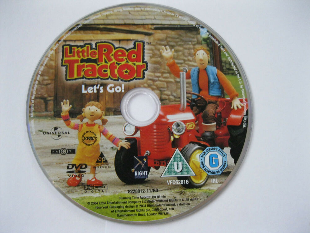 Tractor Going Right On Man : Little red tractor let s go episodes games dvd