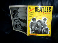 The Beatles 1963 Sheet Music SONG BOOK 1st Issue WORDS AND MUSIC FOR 7 SONGS FAB