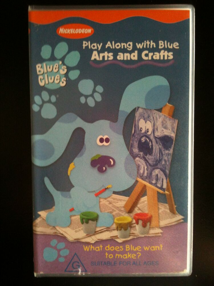 Blues Clues Arts And Crafts