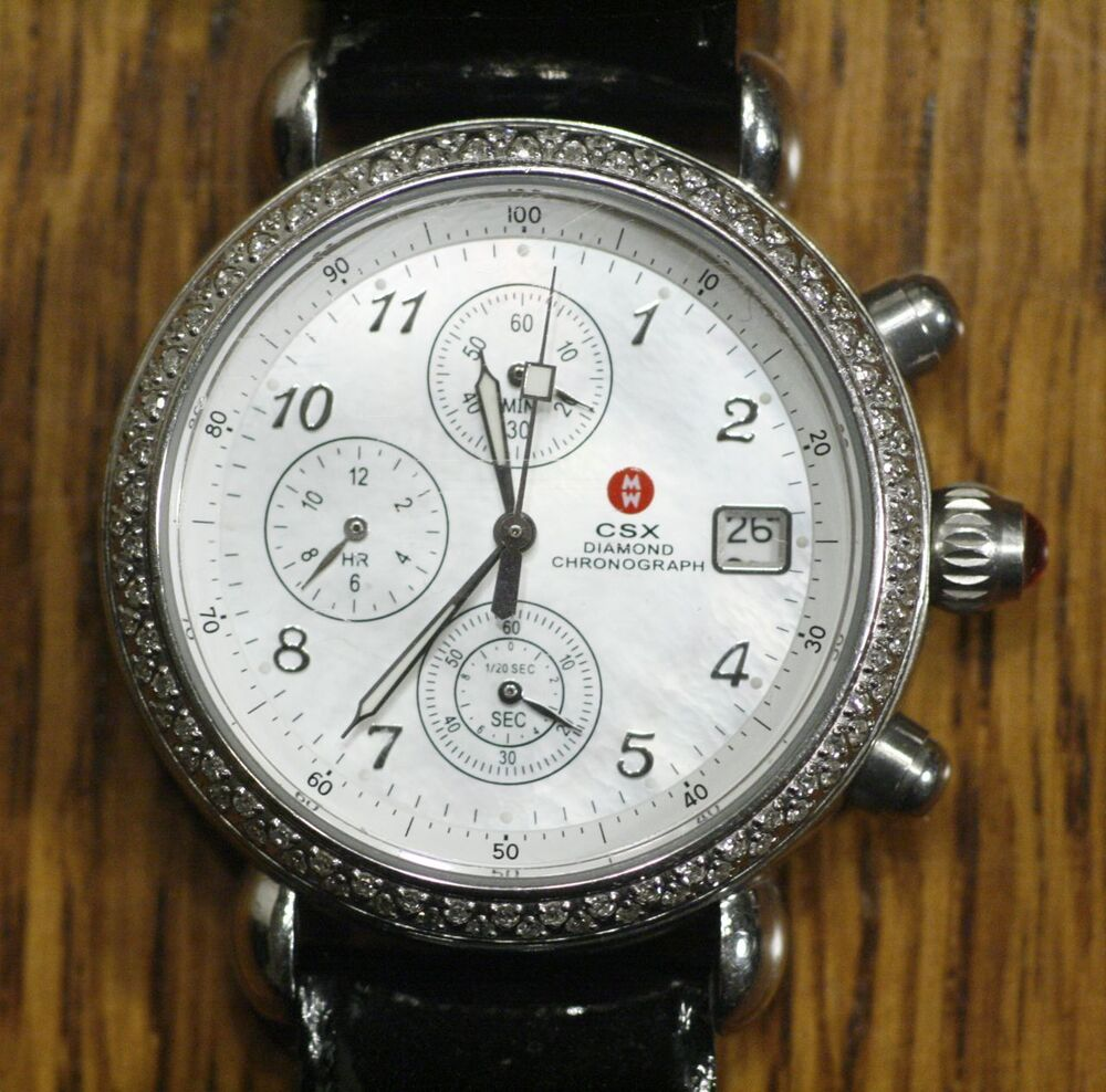 Csx Diamond Chronograph Watch