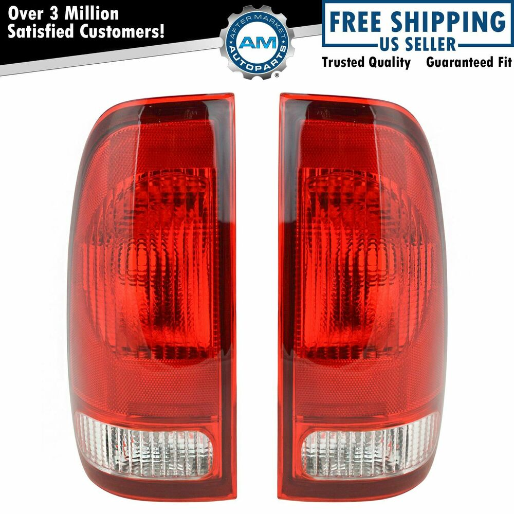 taillights taillamps rear brake lights pair set new for. Black Bedroom Furniture Sets. Home Design Ideas