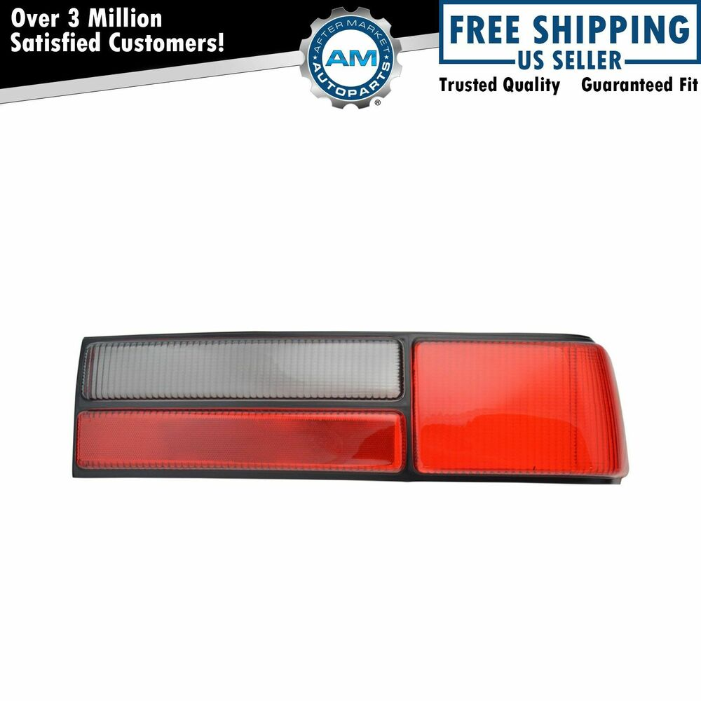 rear brake light taillight lamp right lens passenger rh. Black Bedroom Furniture Sets. Home Design Ideas
