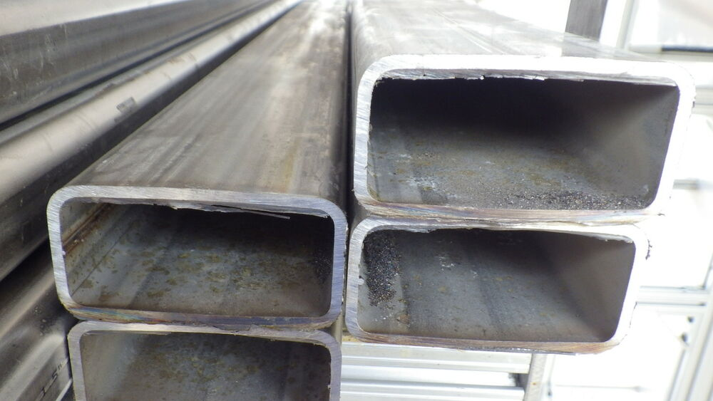 By the ft stainless steel rectangular tubing quot