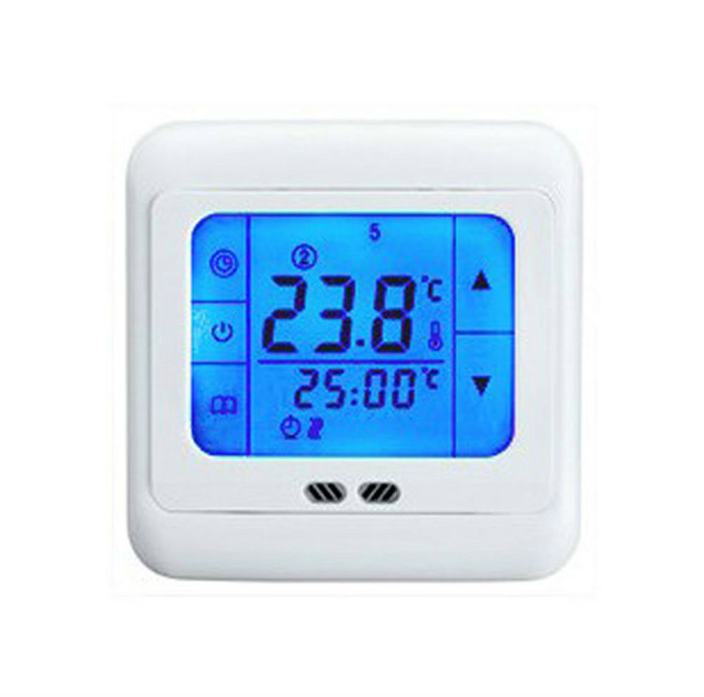 24v Volt Smart Underfloor Touch Screen Heating Thermostat