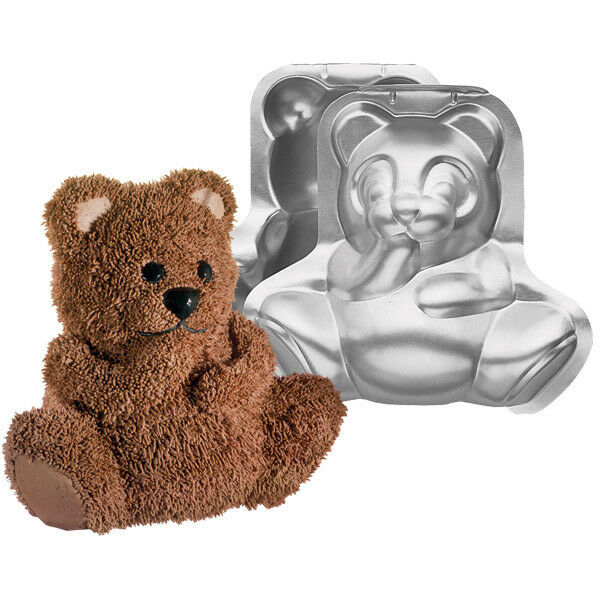Wilton Stand Up Cuddly Bear Pan Set Teddy 3d 2105 603 Ebay