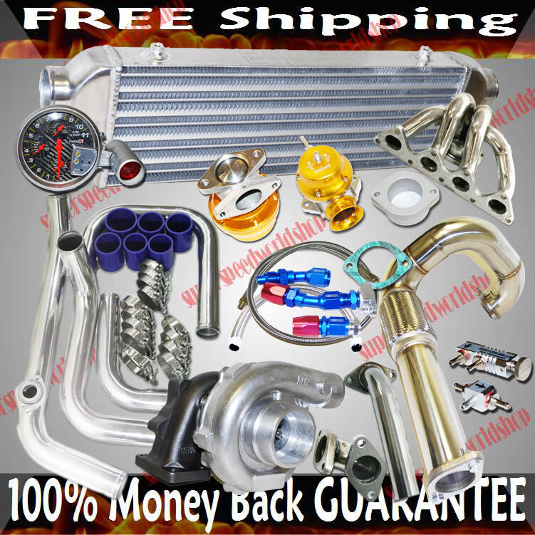 Turbo Kits T3/T4 Turbo For 1988-1995 Honda Civic B16 B18