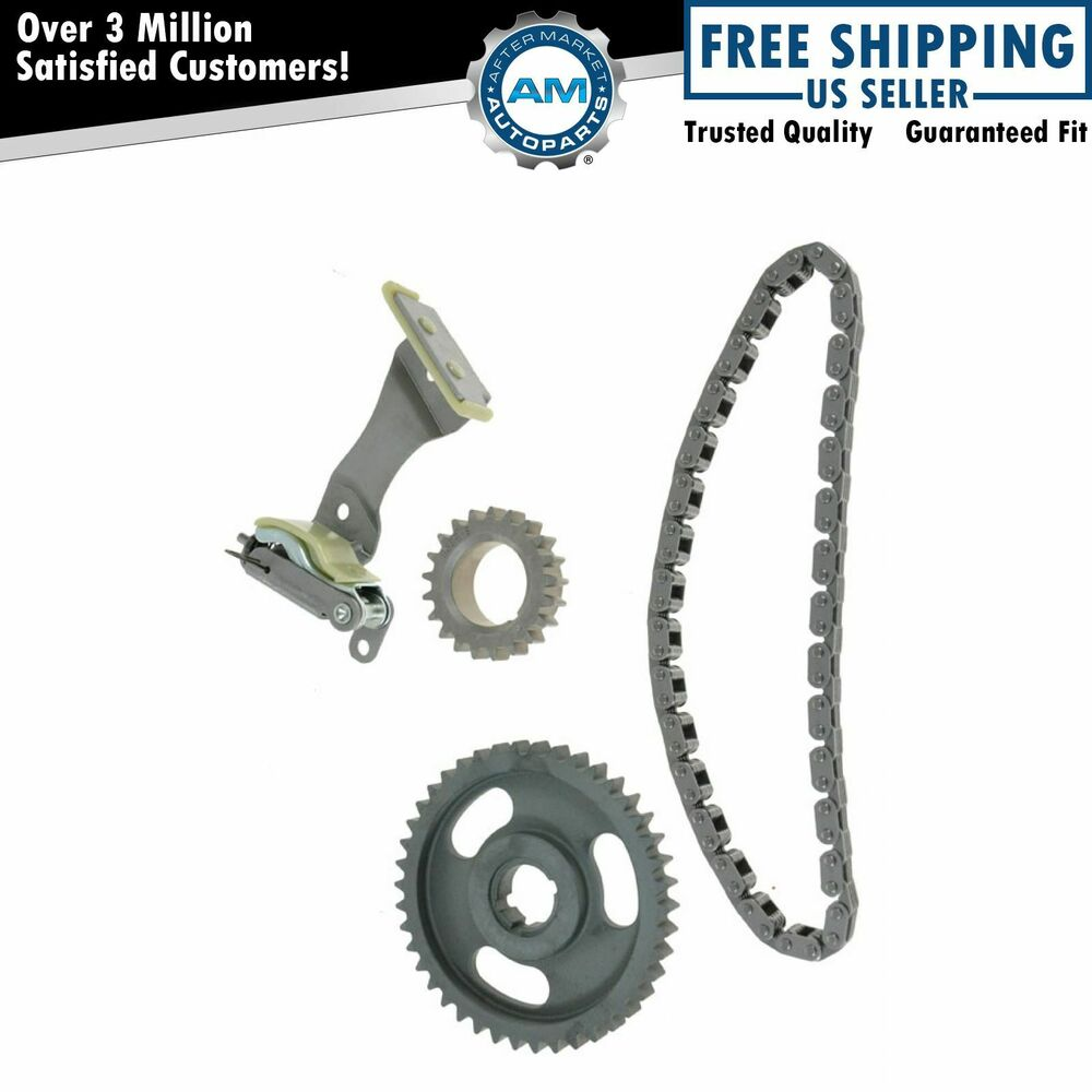 Ford Timing Belt : Complete timing chain kit set for ford lincoln mercury