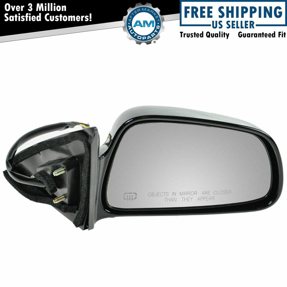 Mitsubishi Side Mirror Replacement: Mirror Power Heated Passenger Side Right RH For 99-03
