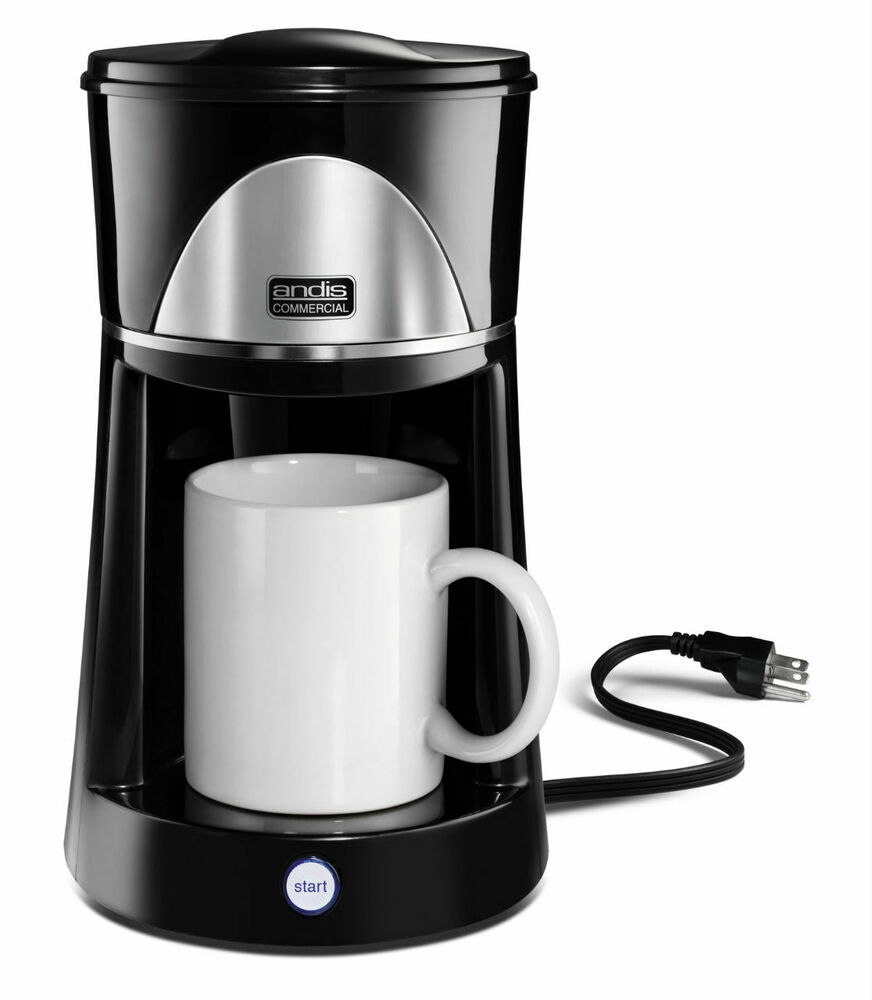 single cup coffee makers andis 60980 one cup coffee maker ebay 12254