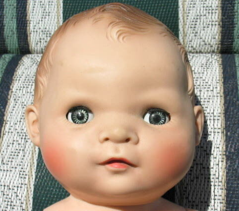 Vintage 1958 American Character Baby Toodles Doll In