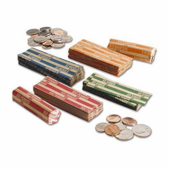 Pack Includes 25 Each Of Penny Nickel Dime And Quarter Wrers