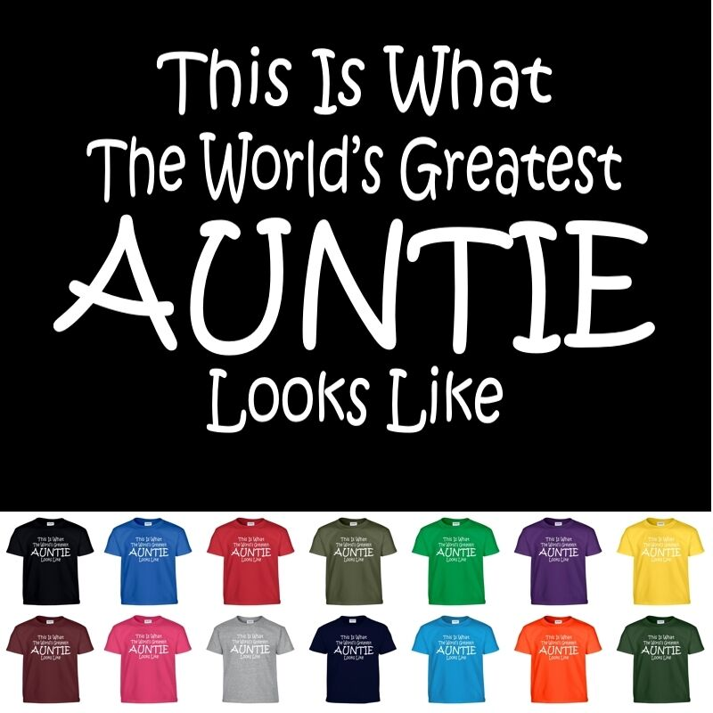 Worlds Greatest AUNTIE Funny Mothers Day Birthday ...