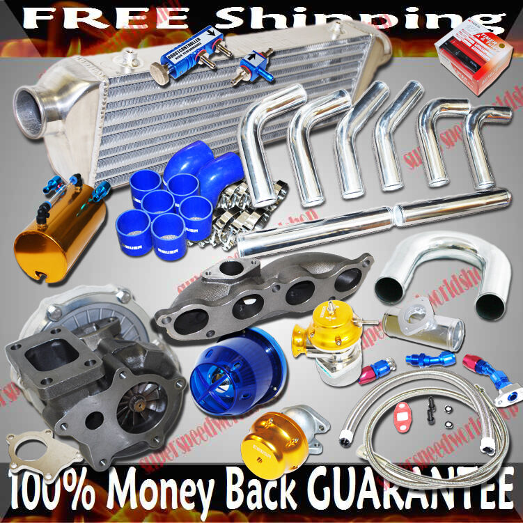 Turbo Kit T3/T4 Turbo For 02-06 Acura RSX DC5 Base Coupe