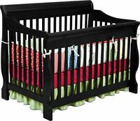 Delta Canton 4-In-1 Convertible Crib Daybed Toddler Bed Nursery Furniture New
