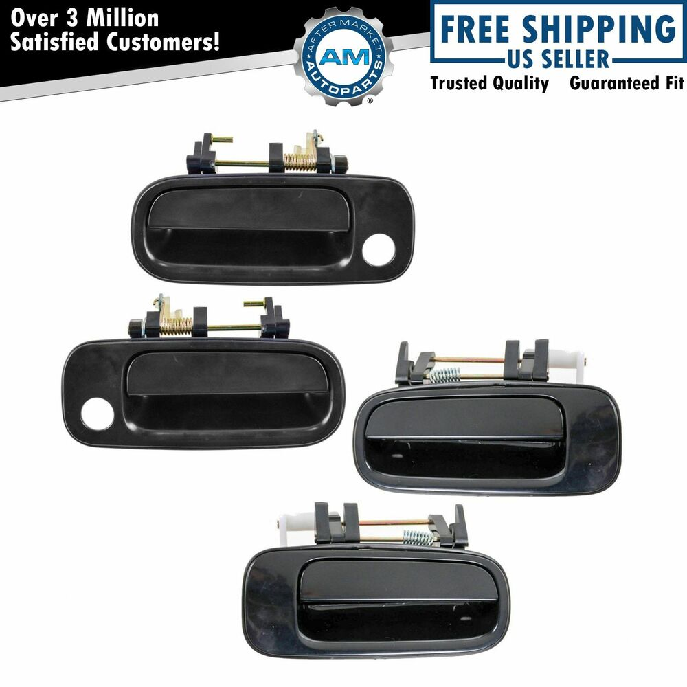 Outer Outside Exterior Door Handle Front 4 Piece Set Kit For 92 96 Toyota Camry Ebay