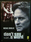 Dvd Don't say a word - ed. digipack 2 dischi con Brittany Murphy Usato