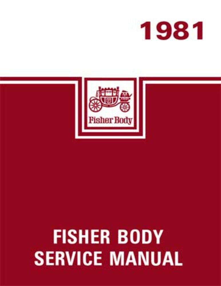 Body by fisher 1964 service manual