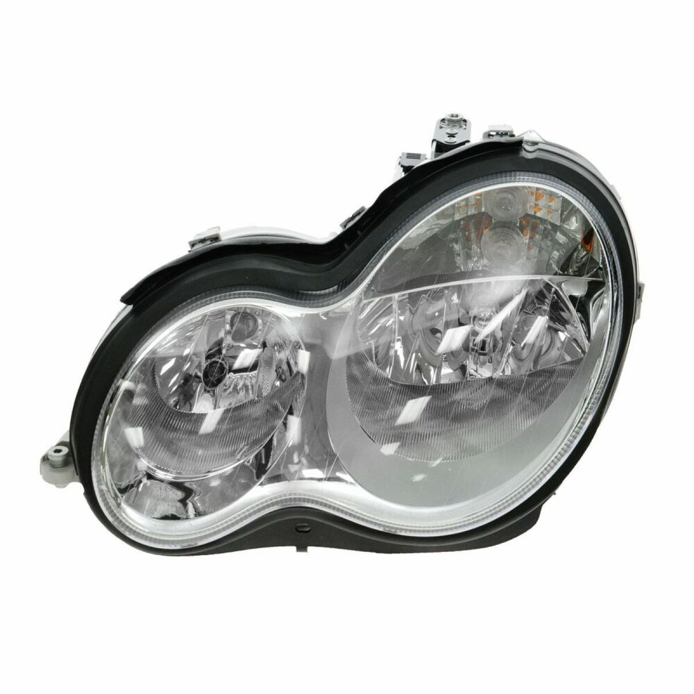 Halogen headlight headlamp driver side left lh for for Mercedes benz headlight bulb