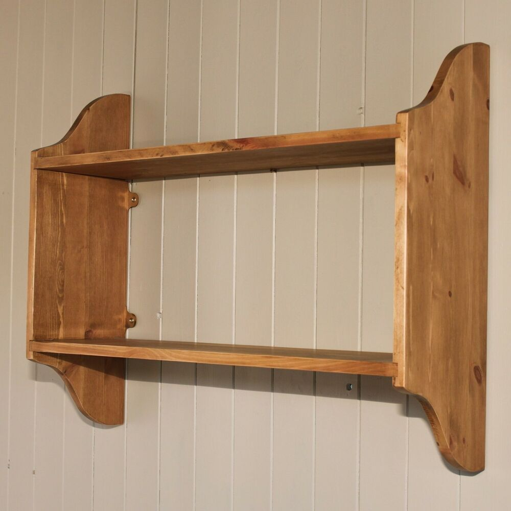 Deep 2 tier wall shelf bookcase book rack cook books How deep should a bookshelf be