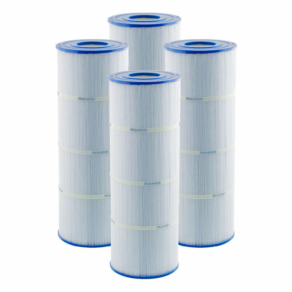 Pleatco Pa100n 4 Pack Replacement Filter Cartridges For