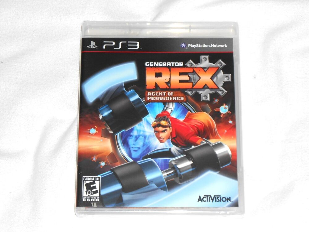 New Playstation 3 Games : New generator rex agent of providence playstation game