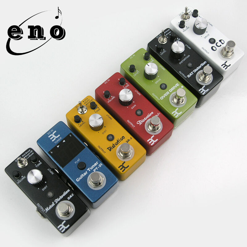 compact mini guitar effects pedals distortion overdrive tuner ped ebay. Black Bedroom Furniture Sets. Home Design Ideas
