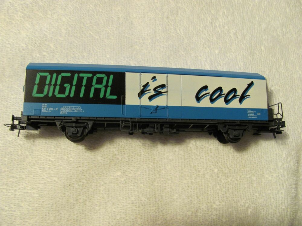 Cool Toy Train Cars : Roco refrigerator car quot digital is cool ho gauge model