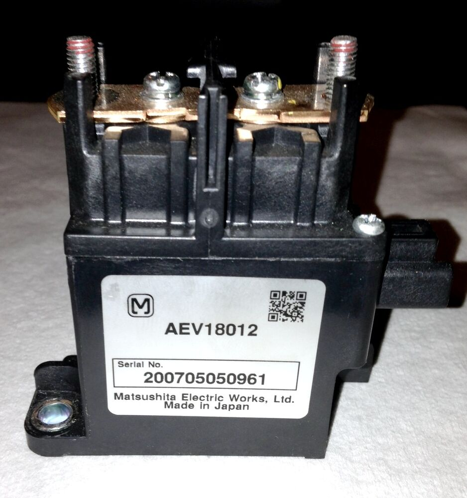Toyota Prius Hybrid Battery Main System Relay Ev Hev And