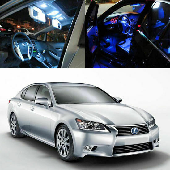 Lexus Crv: 7-Light SMD Full LED Interior Lights Package Deal For 2013