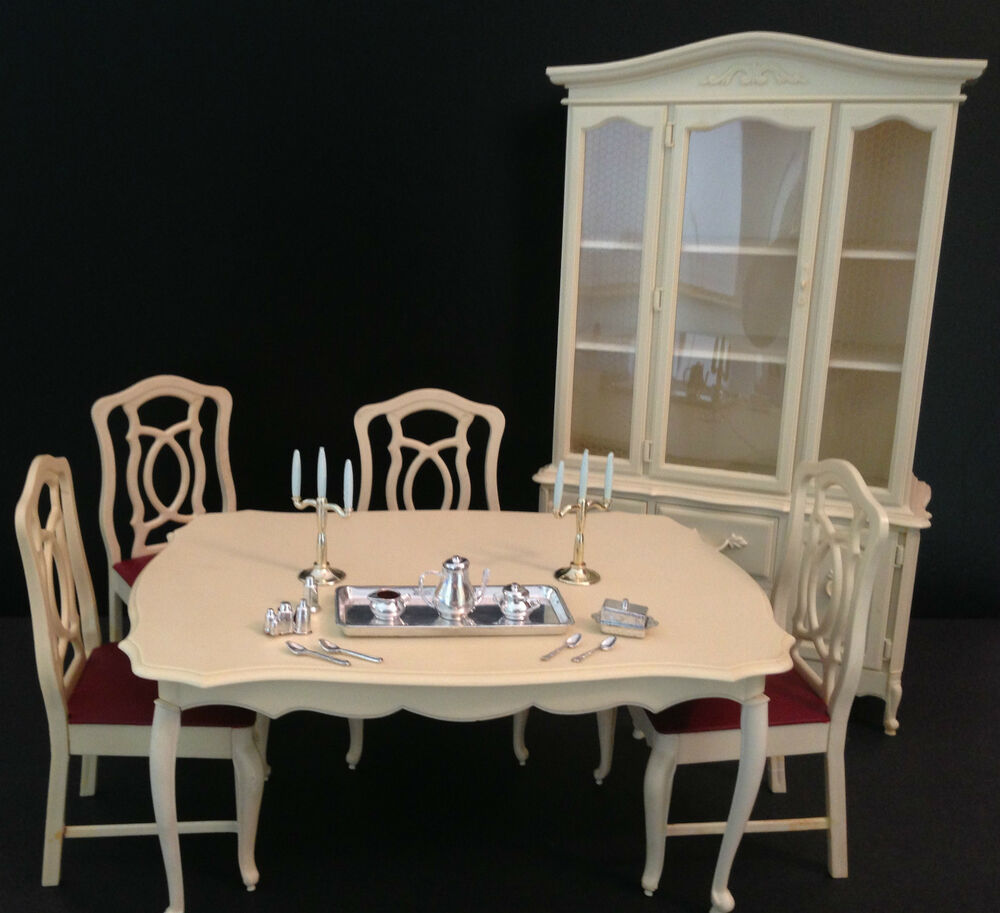Vintage Barbie Doll Sindy Furniture Dining Room Set China