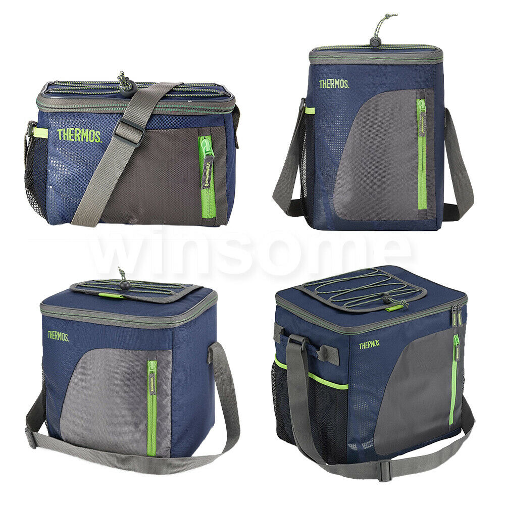 Thermos Insulated Cool Cooler Bag Box Picnic Camping Food