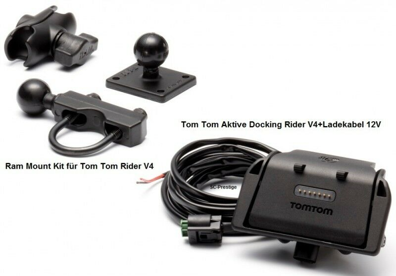 tomtom tom tom rider v4 2013 active docking shoe ram mount. Black Bedroom Furniture Sets. Home Design Ideas