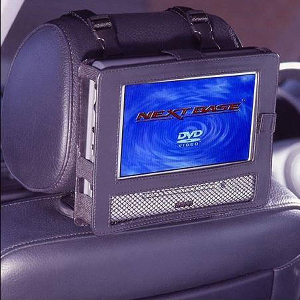 car headrest mount holder for 10 or 10 5 portable dvd. Black Bedroom Furniture Sets. Home Design Ideas