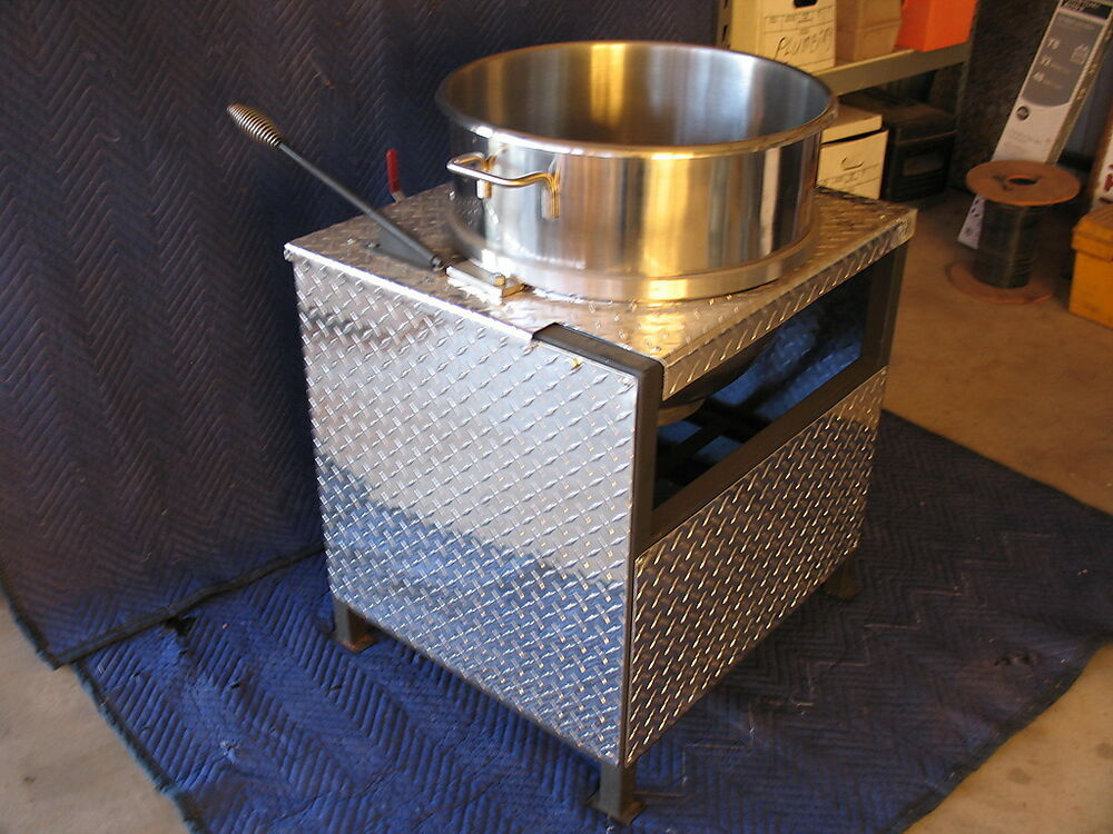 how to make a kettle corn machine
