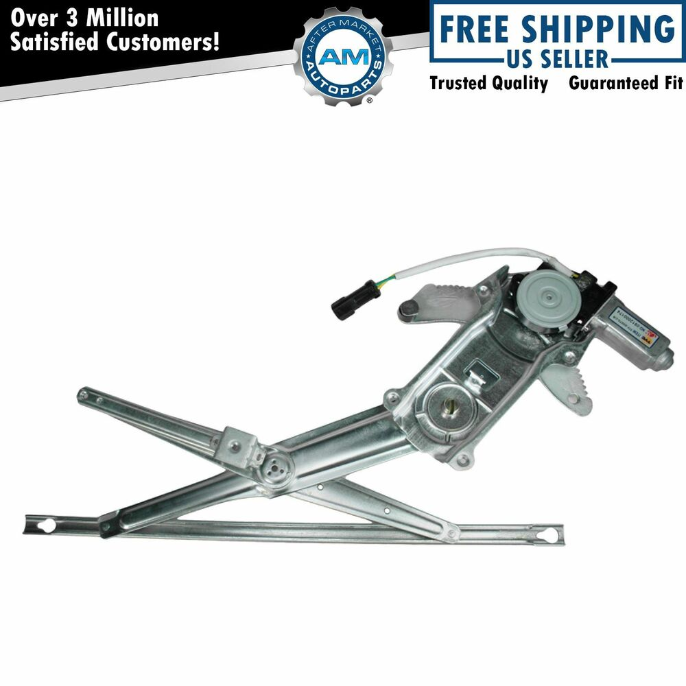 Front power window regulator w motor passenger side right for 2002 dodge dakota window regulator