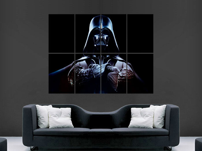 Darth Vader Star Wars Huge Large Wall Art Poster Picture