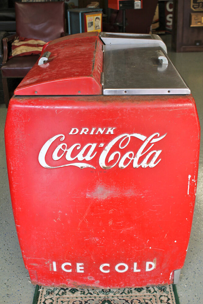 Leigh Country Vintage Red 65 Qt. Coca-Cola Cooler-CP 98100 ...  Old Coca Cola Coolers