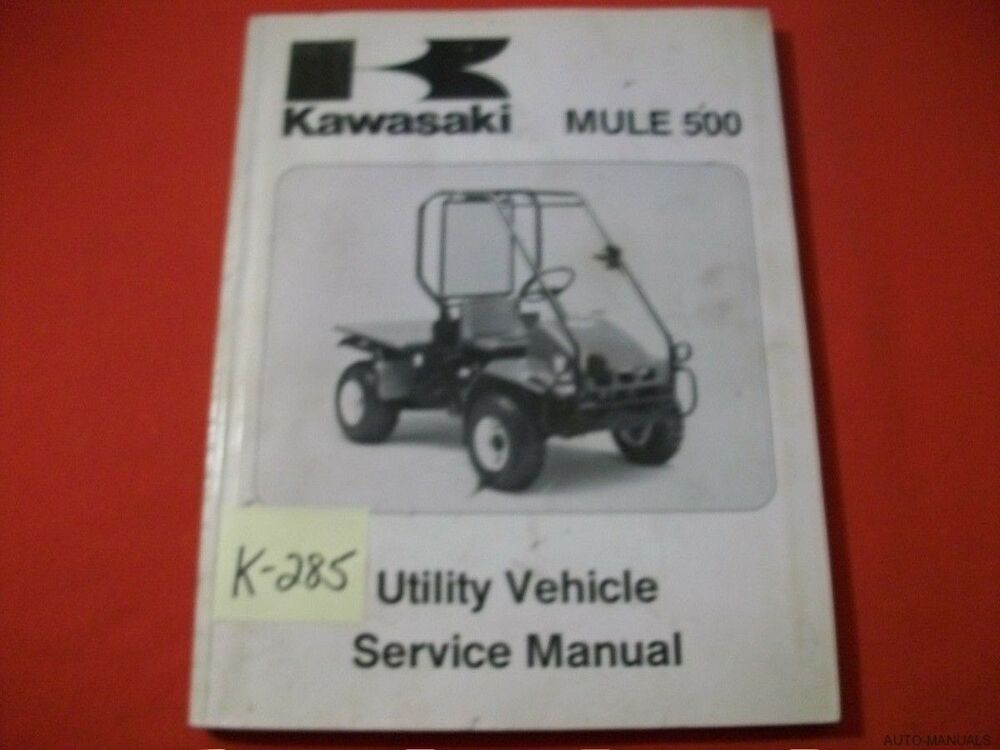 kaf620a workshop manual