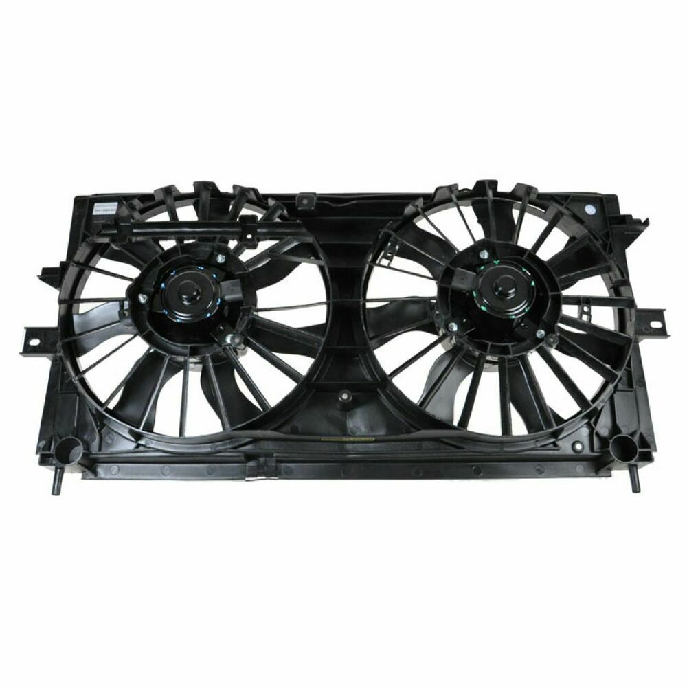 Radiator Cooling Fan Assembly For 00 03 Chevy Impala 3 4l