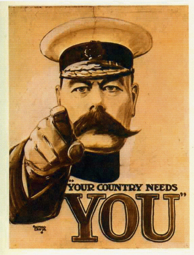 Lord Kitchener Quot Your Country Needs You Quot Vintage Propaganda Poster A1a2a3a4sizes Ebay